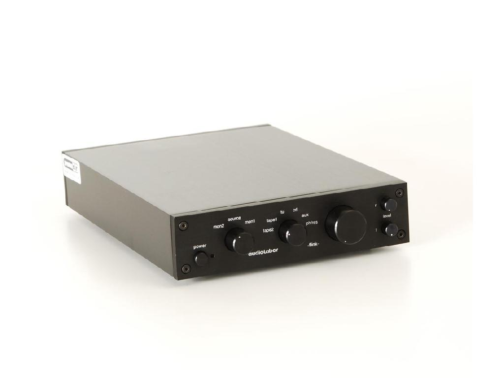 Audiolabor Flink Pre mit Phono MC schwarz