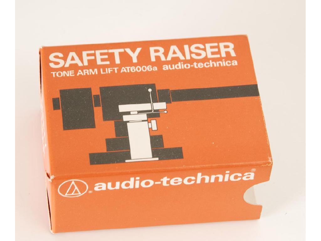 Audio-Technica AT6006a Safety Raiser Endlift NOS