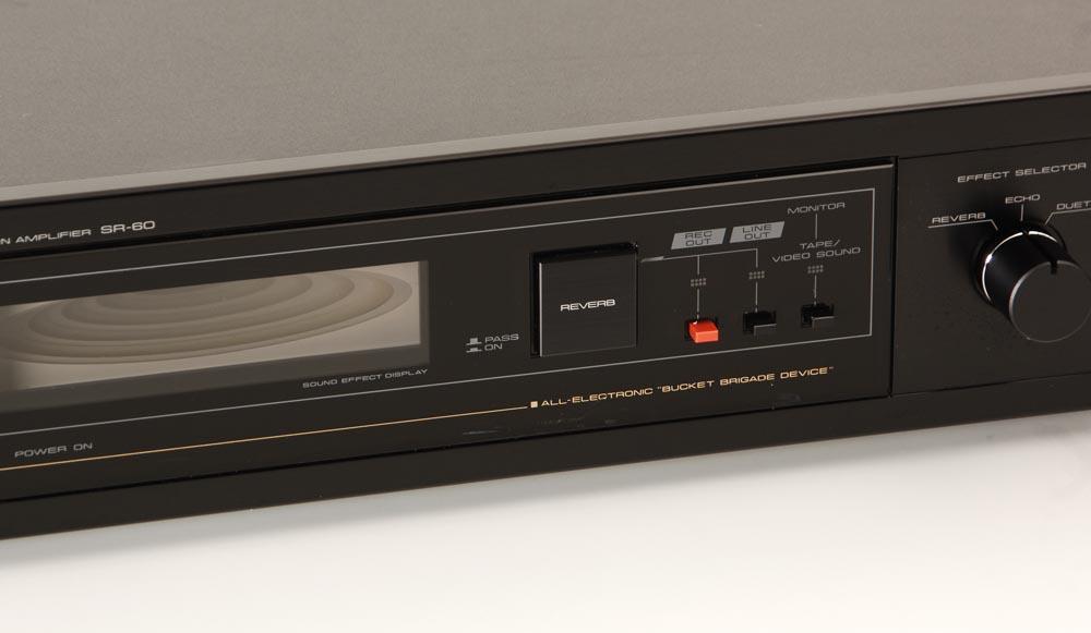 Pioneer SR-60 Hallgerät schwarz