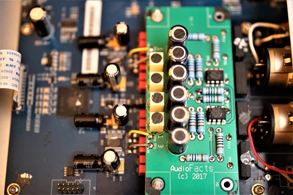 D2, D1,T1, T2 and U1 AudioFacts Pro modification
