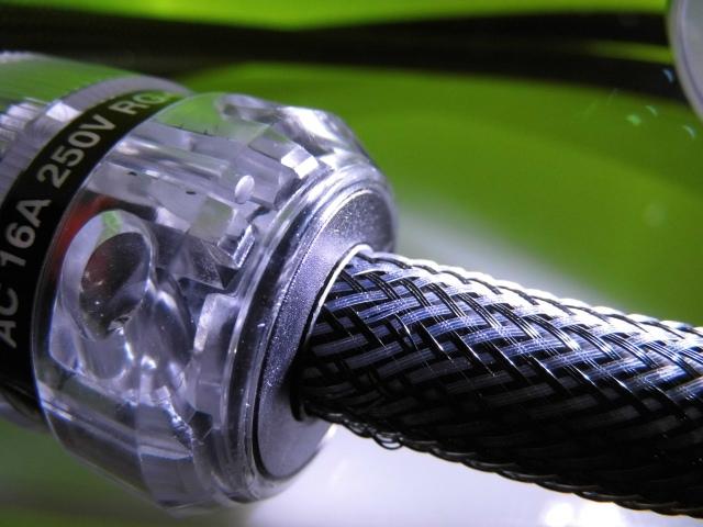 Netzkabel Referenz 40 II Silber/Rhodium