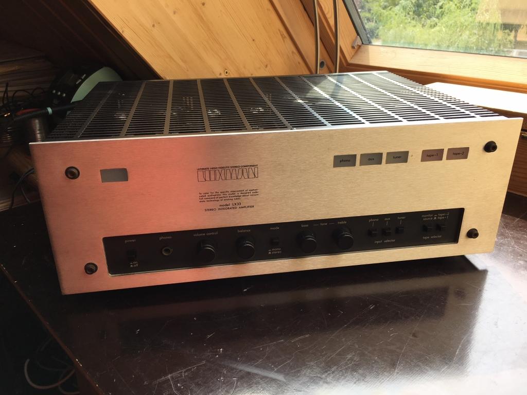 LX-33 100 Volt Version mit 230 V Netzwandler