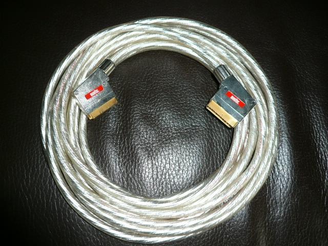 Premium - Monitor  - SCART - Kabel 10 m voll beschaltet, OFC - Kupfer