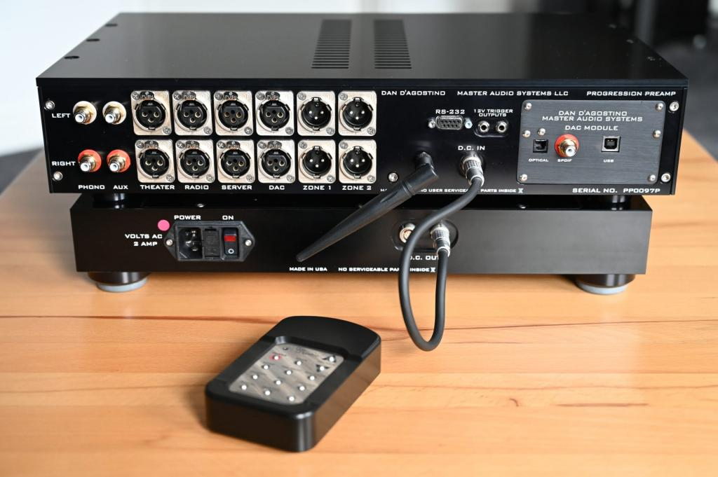 Progression PreAmp mit DAC