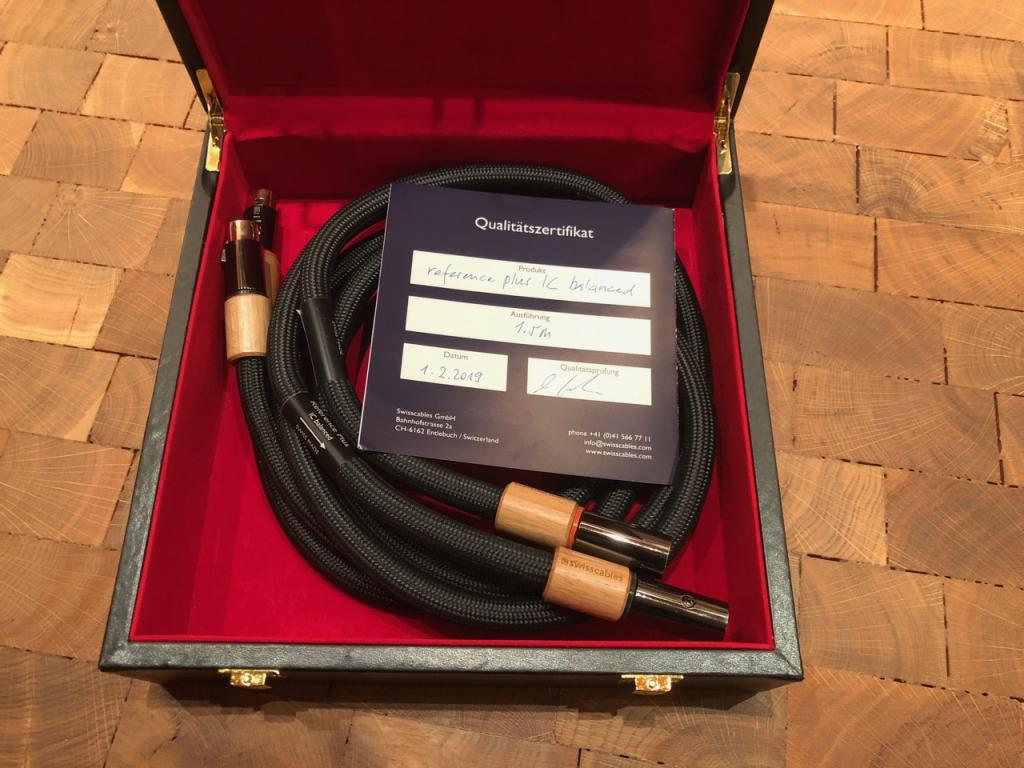 IC Balanced Reference Plus, 1,5 Meter XLR