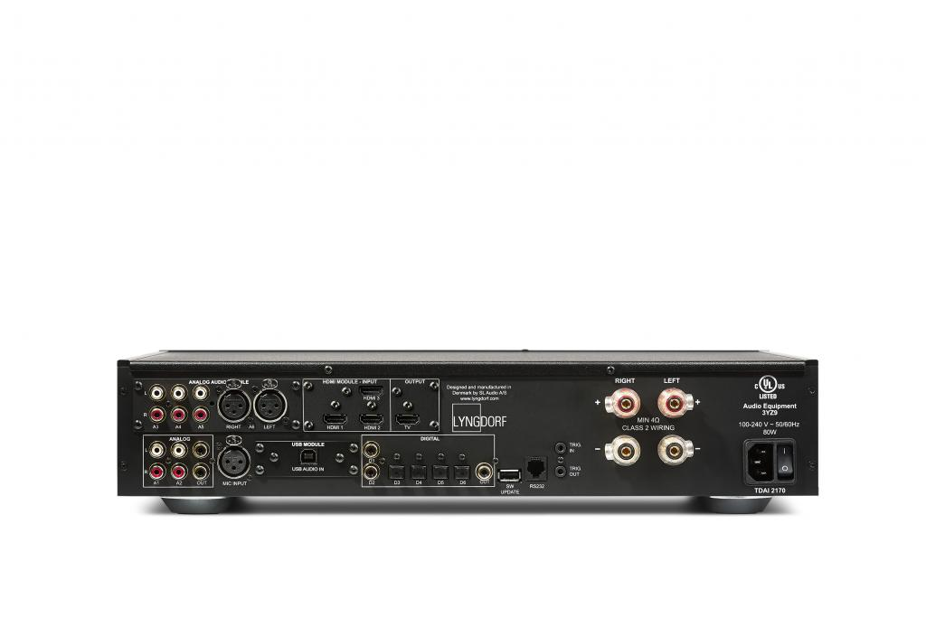 Lyngdorf Audio TDAI-2170 HDMI RoomPerfect