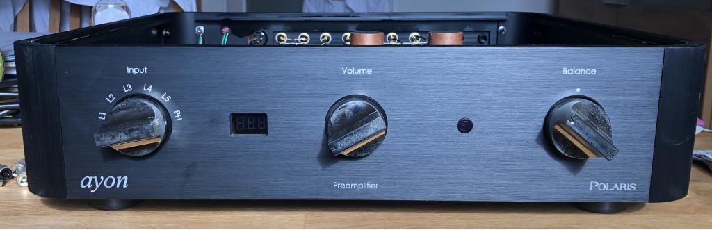 Ayon Audio Polaris III Vorverstärker Sonderedition mit Lundahl Übertragern