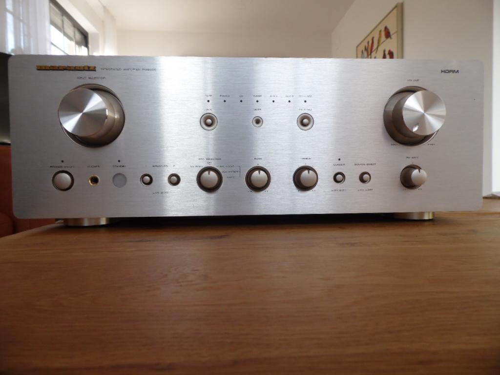 Marantz Marantz PM 8000 Transistor Vollverstärker im guten Zustand Werkstatt geprüft