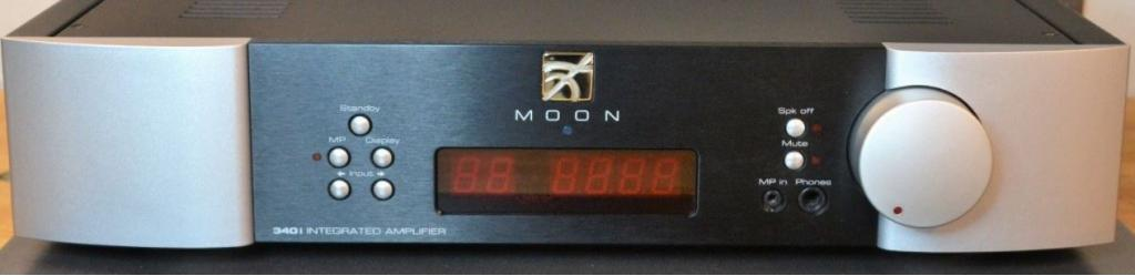 Moon Neo 340I Integrated Amplifier With D2 DAC Board and Phonoboards