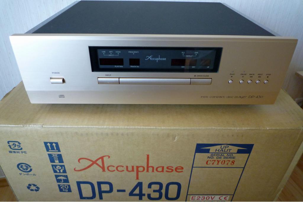 CD-Spieler und DAC DP-430