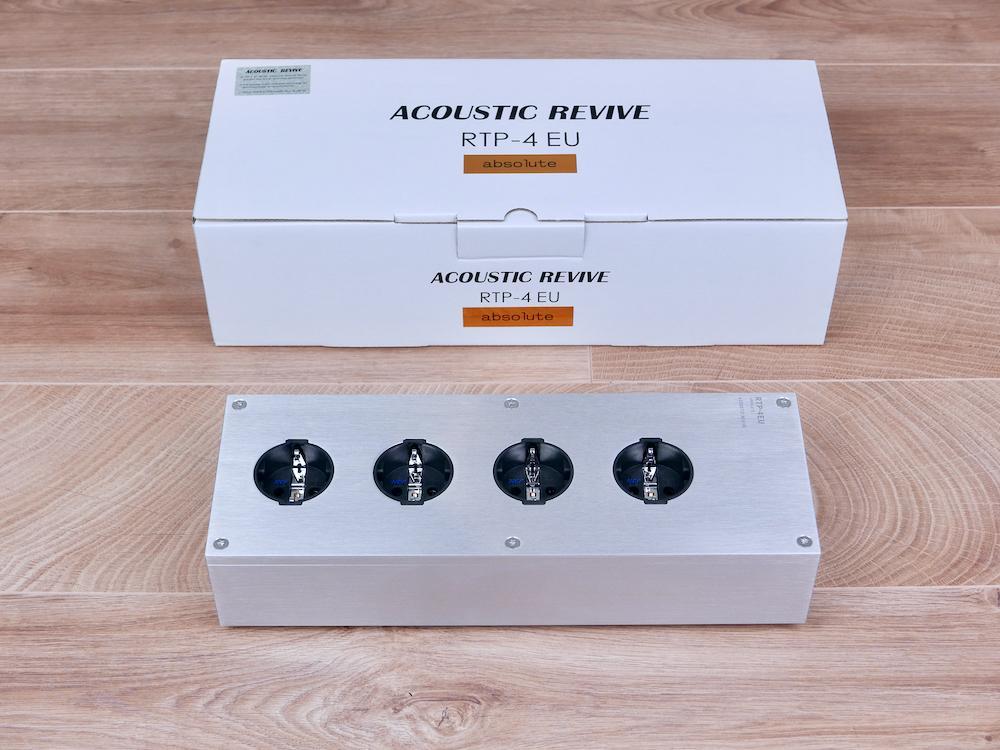 RTP-4EU Absolute highend audio AC power strip NEW
