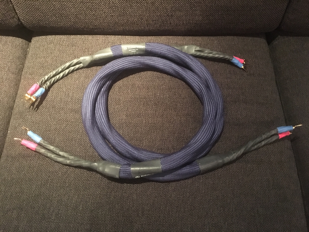 Emotion 1.5m speaker cables