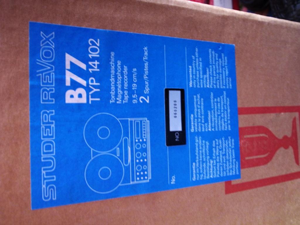 B-77 Brand New (NOS)!