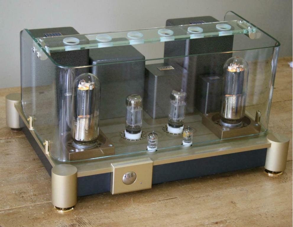 EC-838 single ended triode valve amplifier
