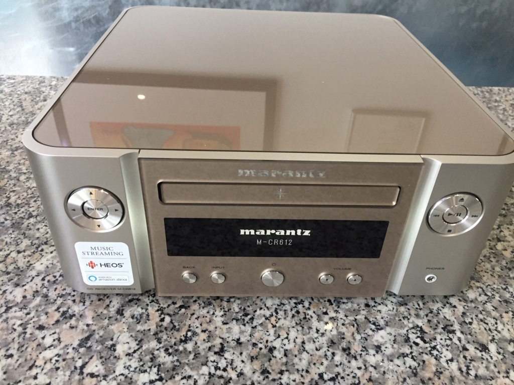 Neuheit  >>Marantz Melody X CD Receiver M-CR612 in Champagner>>>