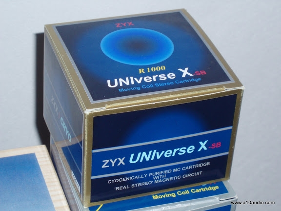 MC ZYX UNIverse X SB,ZN 0.24 mV. Cartridge