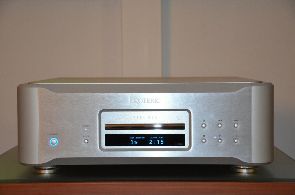 K-01Xs High-End SACD/CD Player silber Erstbesitzer wie Neu. NP 22500€