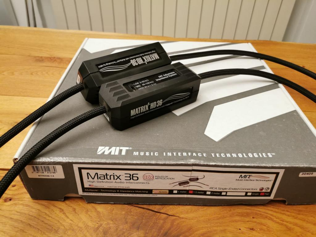 MIT Matrix HD 36 1,5m RCA