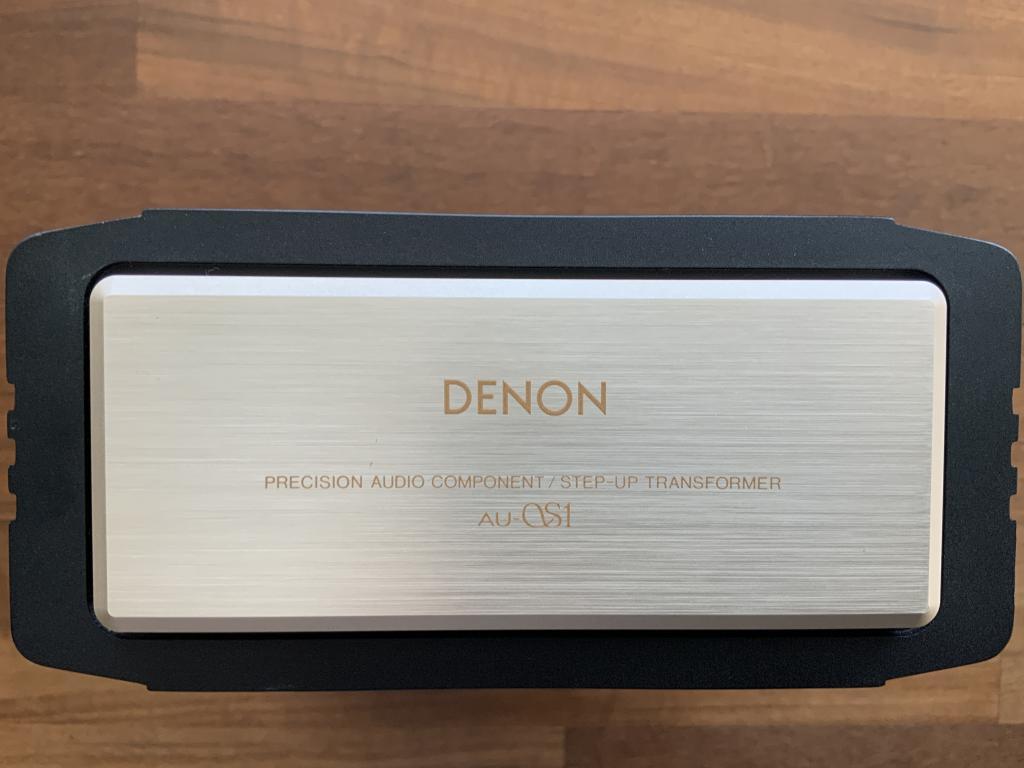 Denon AU-S1 MC Übertrager für Denon DL-S1
