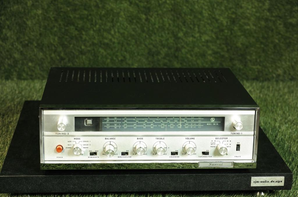 SM-34 Vintage Röhren Receiver