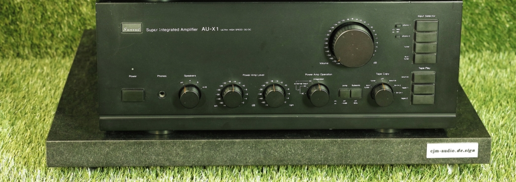 AU-X1 Vintage Vollverstärker