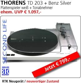 TD 203 + Benz Silver