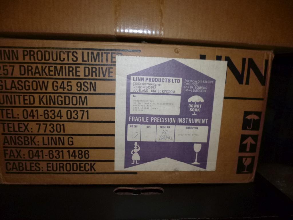 Linn Sondek Valhalla with original box