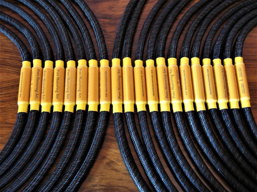 Pure Mastering Art XLR/RCA cable
