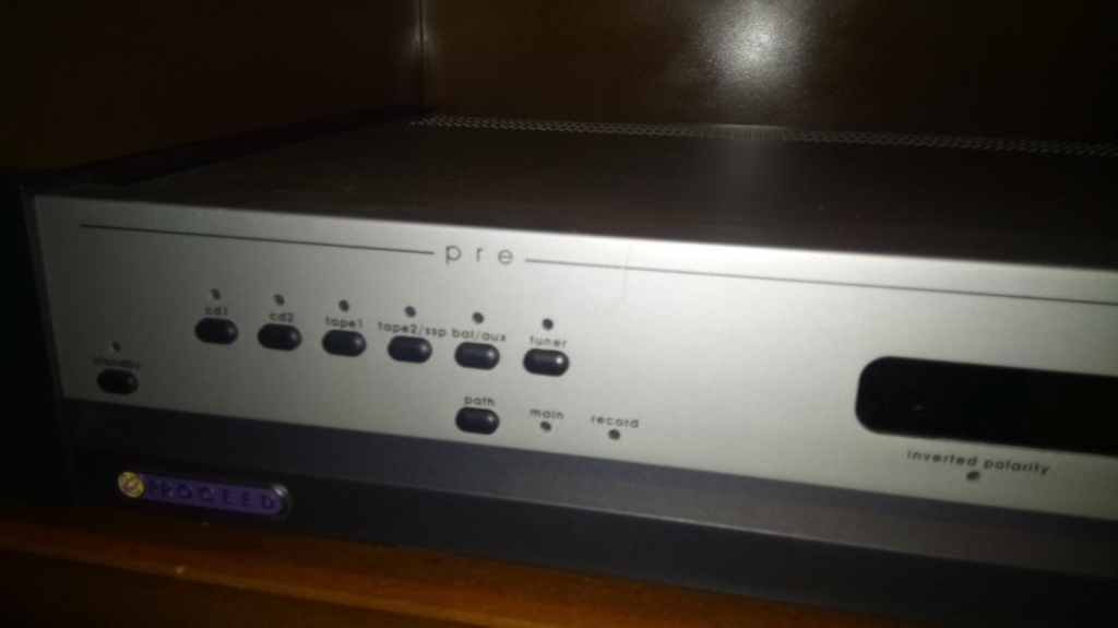 PRE preamp Audio 2 channel from MADRIGAL