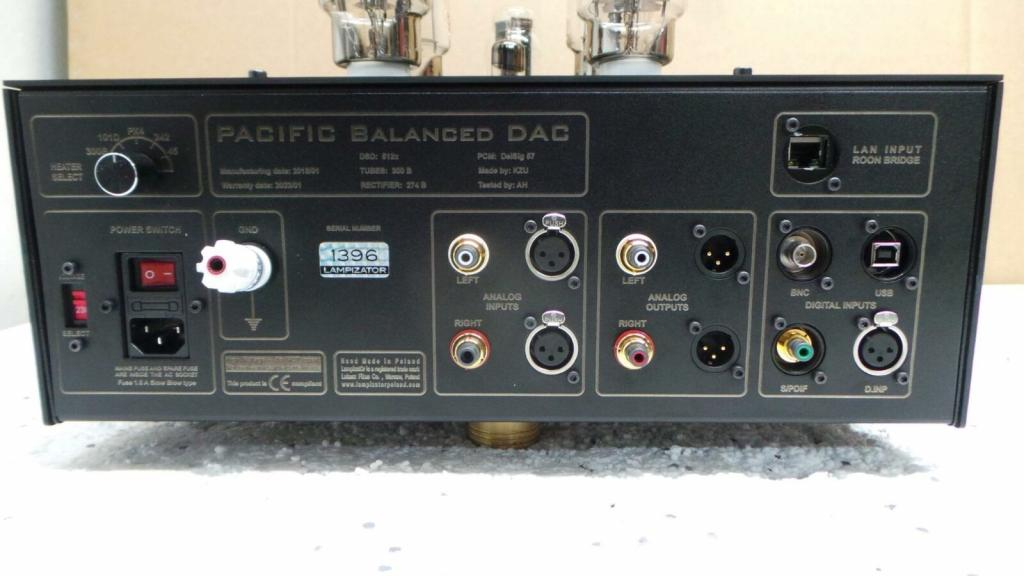 Pacific balanced Dac
