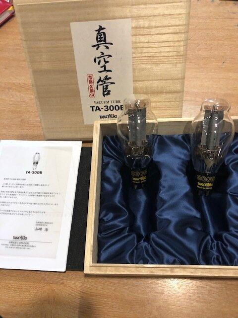 Takatsuki TA 300B Valves BRAND NEW