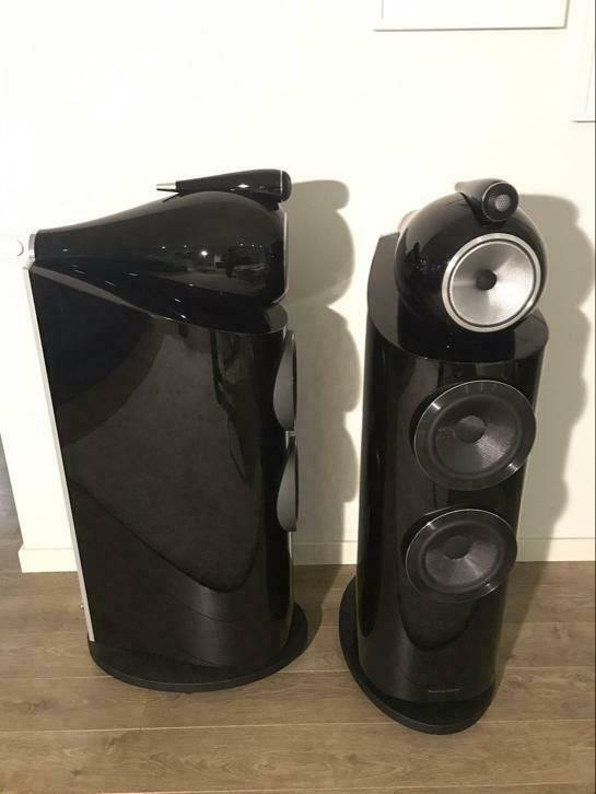 B & W B&W 802d3 in Piano Black (4480814328) | Second-hand device | Standing  Speaker | Offer on audio-markt.de