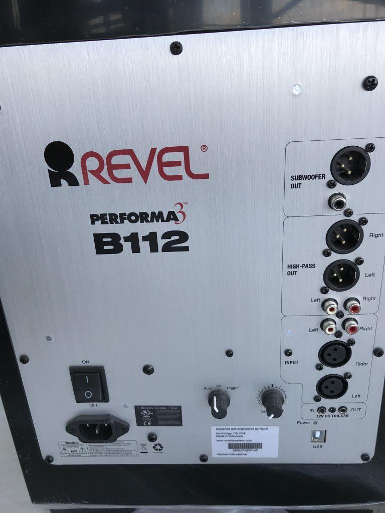 Revel Performa 3 B112