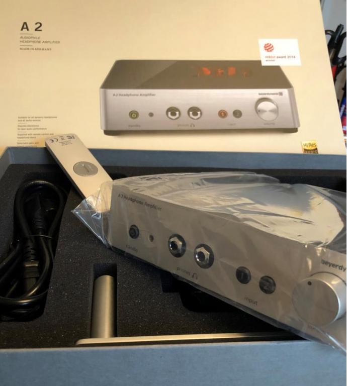 Beyerdynamic A2 Audiophile Headphone Amplifier