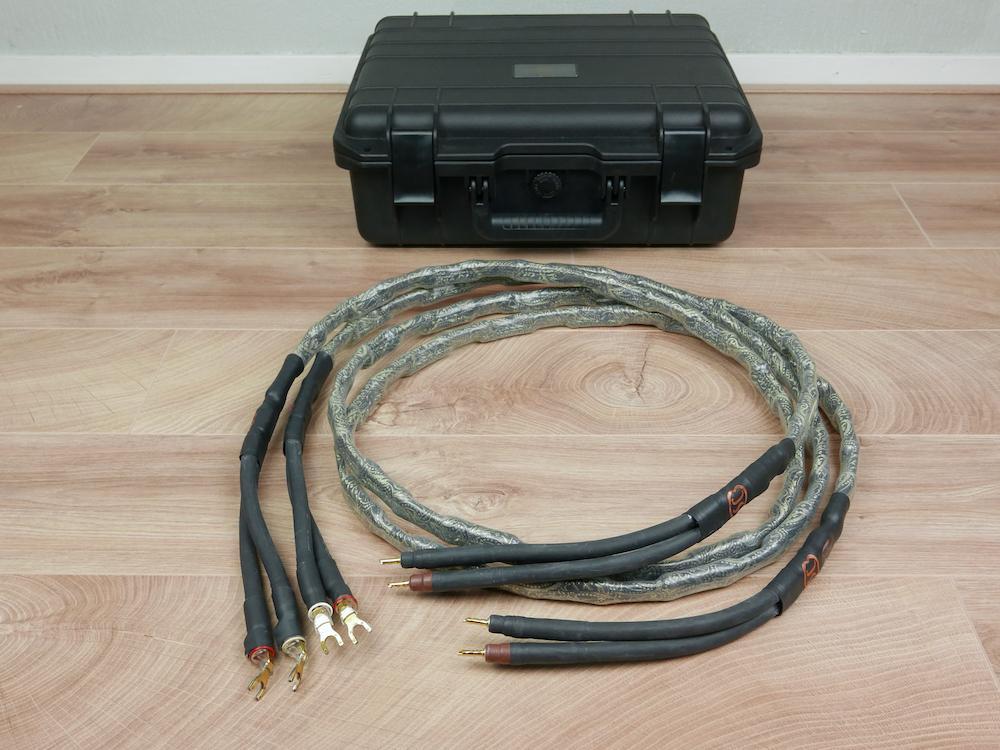 --- Diverse / Andere --- Skogrand Tchaikovsky highend audio speaker cables 2,0 metre