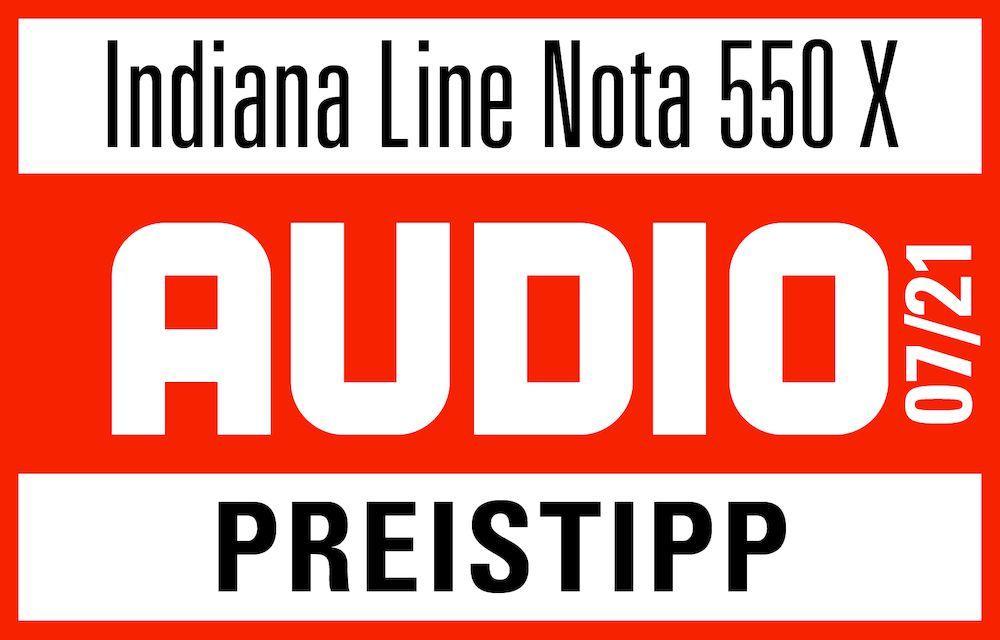 NOTA 550X von INDIANA LINE - Klare Kaufempfehlung -auch laut lite magazin und Hörerlebnis