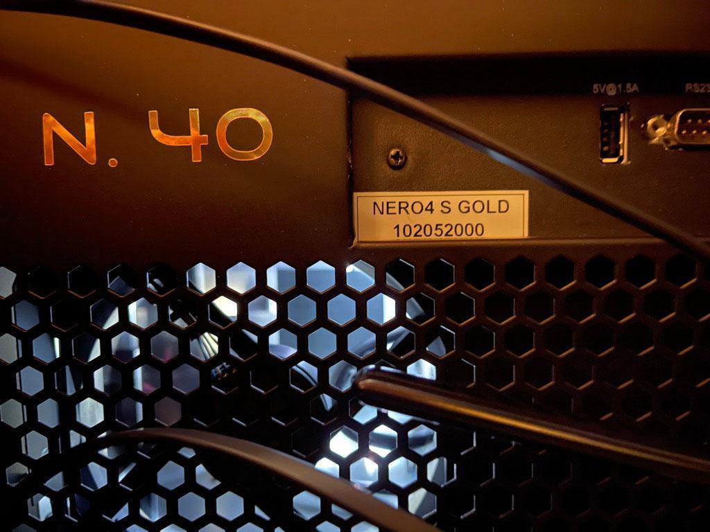 SIM2 NERO 4S Gold Series DUAL-MODULATION HDR