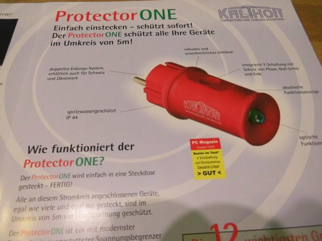 Geräteschutz *Protector One*