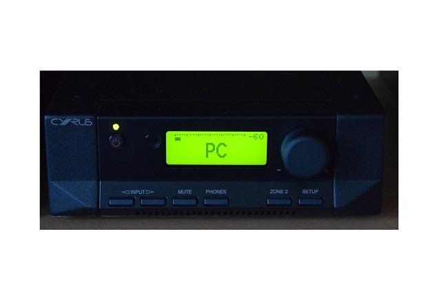 Cyrus 8 DAC - Vollverstärker mit DAC + USB + Zone 2