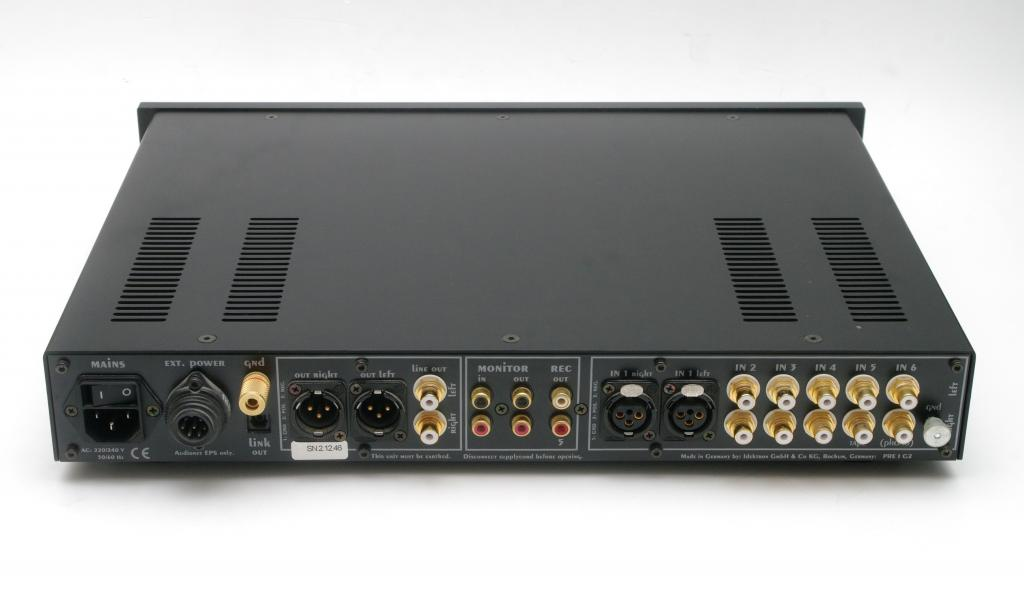 PRE I G2 schwarz oder silber mit BDE-Tuning