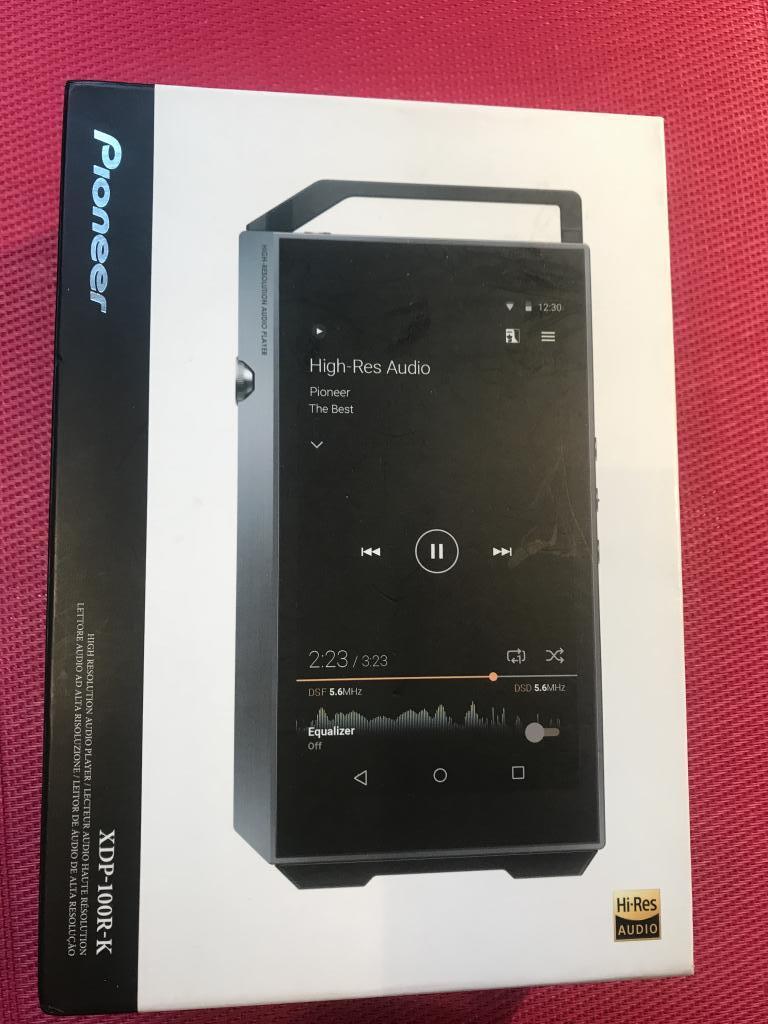 Pioneer XDP-100R-K HiRes Digital Audio Player 32 GB