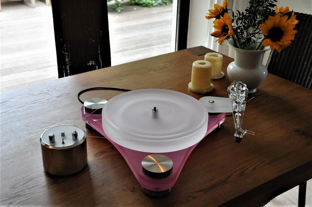 Scheu Pink Diamond mit Schei Cantus 12 Zoll Tonarm
