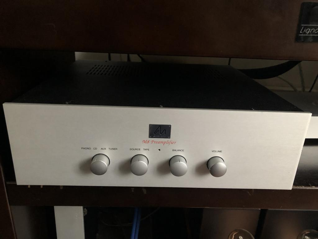 AUDIONOTE PREAMPLIFIER M8 Phono