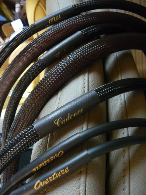 Overture RCA und Speaker cable