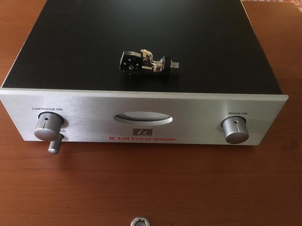 Audio Note IO Ltd MC cartridge with power supply