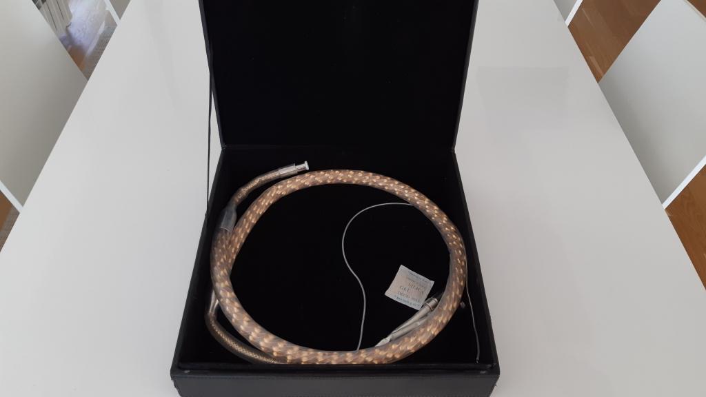 Zensati Seraphim phono cable 1,5 m, 5 pin DIN- rca