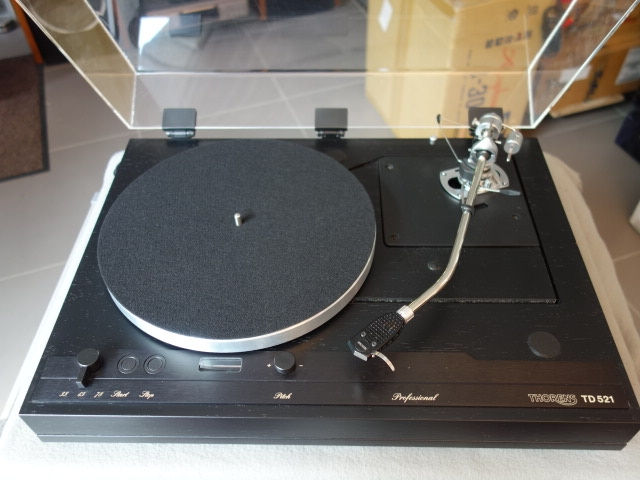 THORENS TD 520 mit SME 3012R ohne Tonabnehmer