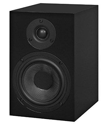 Speaker Box 5 HG Schwarz (Paar) und Stereo Box S Vollverstärker mit AC Netzteil (Neugerät)