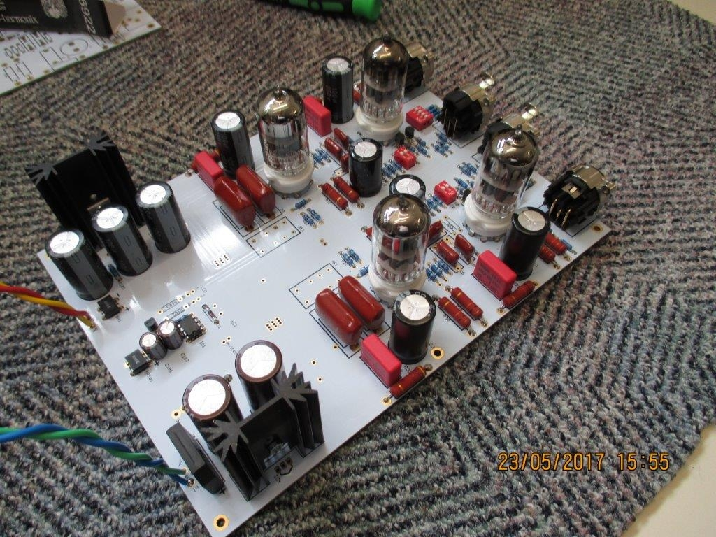 Röhrenphono Symmetrisch MK2x