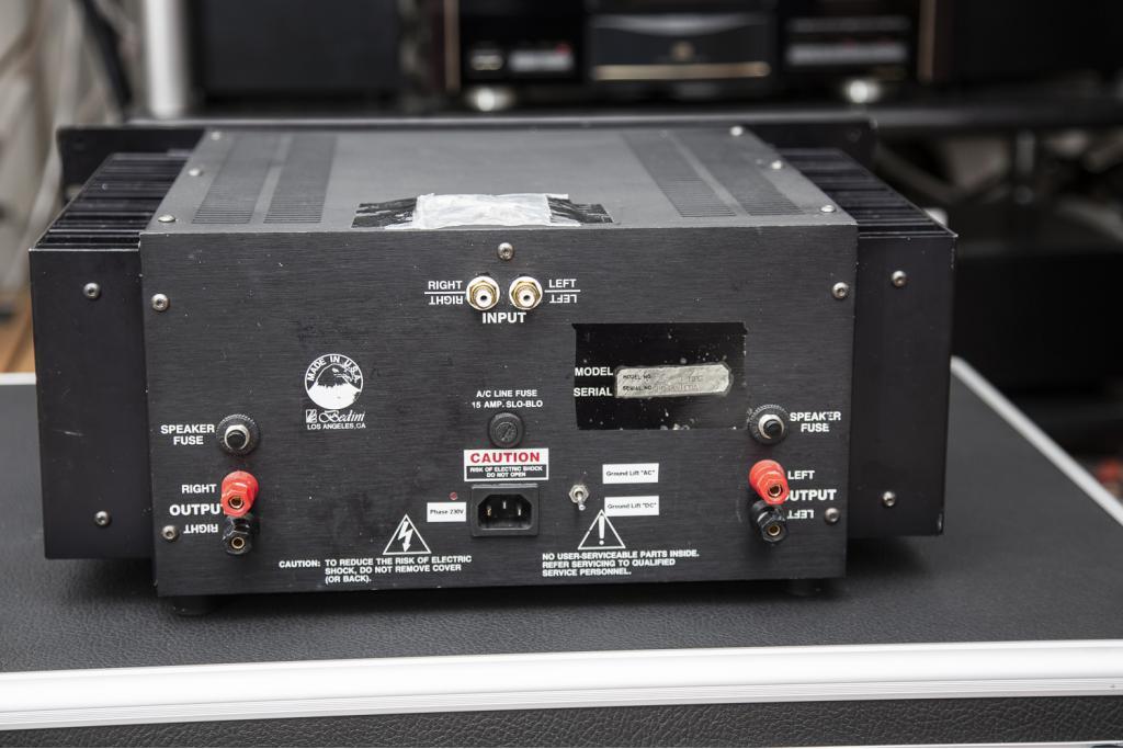 Bedini 25/25 1 Meg amplifier: 240V version SOLD ...